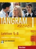 Tangram aktuell 1 - Lektion 5-8 (A1/2), Kursbuch + Arbeitsbuch mit Audio-CD zum Arbeitsbuch