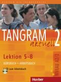Tangram aktuell 2 - Lektion 5-8 (A2/2), Kursbuch + Arbeitsbuch mit Audio-CD zum Arbeitsbuch