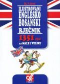 Ilustrovani englesko bosanski rječnik - 1351 riječ za male i velike