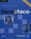 Face2face Pre-intermediate B1 Teachers Book with DVD (2nd Edition)