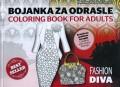 Bojanka za odrasle - Fashion Diva