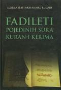 Fadileti pojedinih sura Kuran-i Kerima