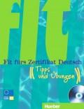 Fit fürs Zertifikat Deutsch Lehrbuch mit integrierter B1, Audio-CD