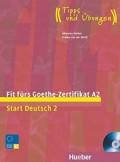 Fit fürs Goethe-Zertifikat A2, Lehrbuch mit integrierter Audio-CD