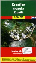 Auto karta: Hrvatska 1