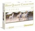 Konji u trku, Panorama - 1000 Puzzle