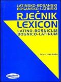 Latinsko - Bosanski, Bosanski - Latinski rječnik