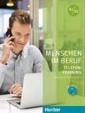 Menschen im Beruf - Telefontraining B1/B2 Kursbuch mit Audio-CD