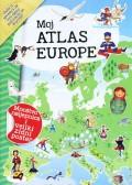 Moj atlas Europe - Mnoštvo naljepnica i veliki zidni poster