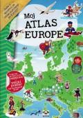 Moj atlas Europe - Naljepnice i veliki poster