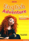 New English Adventure Starter B, Pupils Book