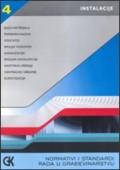 Normativi i standardi rada u građevinarstvu (instalacije 4 baza materijala, vodovod, kanalizacija i sanitarni uređaji)