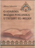 O adabima Božijih poslanika u tefsiru el-Mizan
