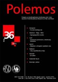 Polemos 36 - Časopis za interdisciplinarna istraživanja rata i mira