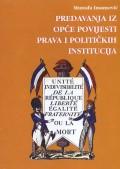 Predavanja iz opće povijesti prava i političkih institucija