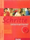 Schritte 2 international - Kursbuch + Arbeitsbuch, Niveau A1/2, sa CD - om
