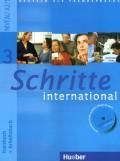 Schritte 3 international - Kursbuch + Arbeitsbuch, Niveau A2/1, sa CD - om
