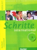 Schritte 1 international - Kursbuch + Arbeitsbuch, Niveau A1/1, sa CD - om