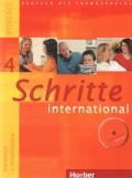 Schritte 4 international - Kursbuch + Arbeitsbuch, Niveau A2/2, sa CD - om