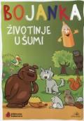 Životinje u šumi - Bojanka